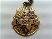 Gold Pendant Yellow Gold Filled 12.6g